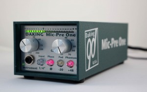 The Mic Pre One by Daking Audio
